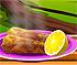 Monkfish with Garlic
